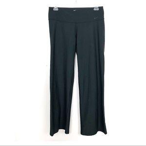 Nike |  Dri-Fit Wide Leg Black Athletic Pants